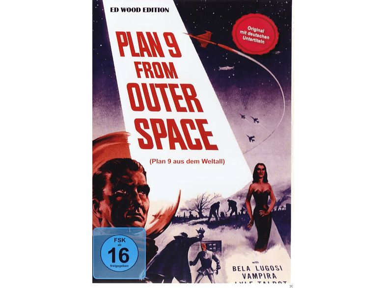 Ed Wood - Plan 9 From Outer Space [DVD]