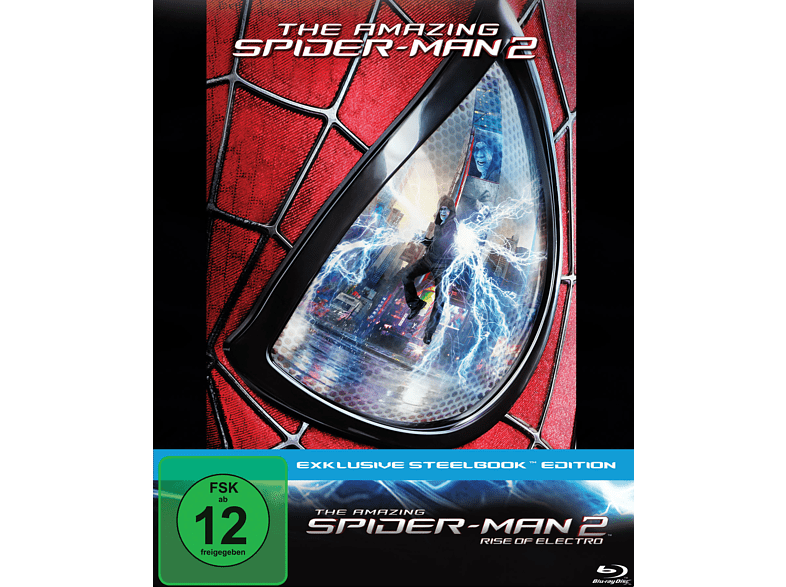 The Amazing Spider-Man : Rise of Electro (Steelbook Edition) [Blu-ray]