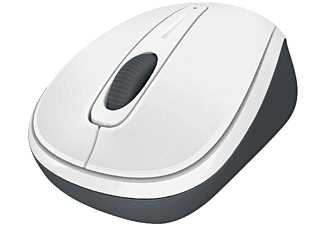 MICROSOFT Wireless Mobile Mouse 3500 White - (GMF-294)