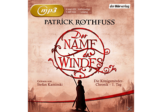 Der Name des Windes - 4 MP3-CD - Science Fiction/Fantasy