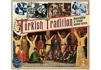 VARIOUS - Turkish Tradition - Masterpieces Of Turkish Musical Culture - (CD)