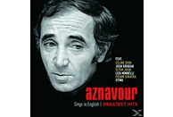 Charles Aznavour - Aznavour Sings In English - Official Greatest Hits [CD]