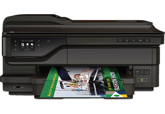 HP OfficeJet 7612, 4-in-1 Tinten-Multifunktionsdrucker, Schwarz
