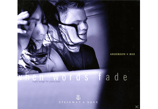 Anderson & Roe - When Words Fade-Night Songs For Piano Duo - (CD)