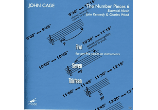 John Kennedy, Charles Wood - John Cage-The Number Pieces 6 - (CD)
