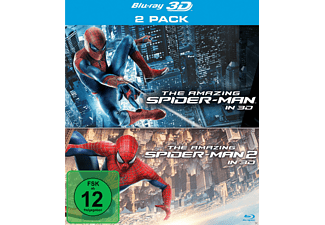 The Amazing Spider-Man , The Amazing Spider-Man 2: Rise of Electro (3D + 2D) - (3D Blu-ray)