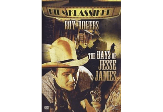 THE DAYS OF JESSE JAMES - (DVD)