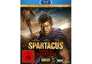 Spartacus - War of the Damned - Die komplette Staffel 3 - (Blu-ray)