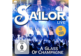 Sailor - A Glass Of Champagne-Live - (CD + DVD)