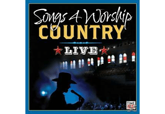 VARIOUS - Songs 4 Worship: Country Live - (CD)