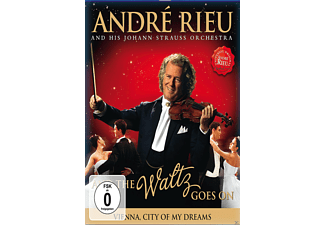André Rieu, Johann Strauss Orchester - Andre Rieu - And The Walz Goes On - (Blu-ray)