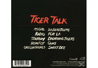 Yukon Blonde - Tiger Talk - (CD)