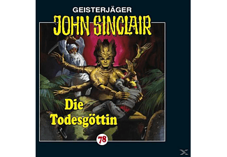 John Sinclair 78: Die Todesgöttin - 1 CD - Horror