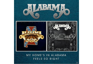 Alabama - My Home's In Alabama - Feels So Right - (CD)