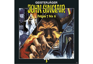 John Sinclair Box 03 - 3 CD - Horror