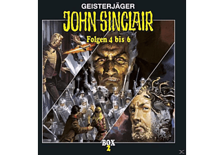 John Sinclair Box 02 - 3 CD - Horror