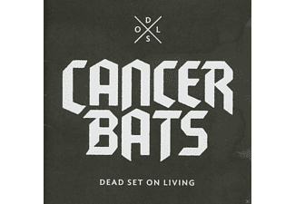 Cancer Bats - Dead Set On Living (Deluxe Incl. Bat Sabbath Ep+3 Bonustracks) - (CD)