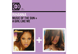 Rihanna - 2 FOR 1 - MUSIC OF THE SUN/A GIRL LIKE ME - (CD)