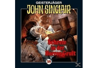 John Sinclair 39: Schreie in der Horror-Gruft (Teil 2/3) - 1 CD - Horror