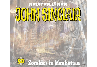 John Sinclair 50: Zombies in Manhattan - 2 CD - Horror