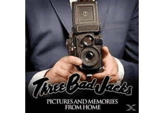 Three Bad Jacks - Pictures And Memories From Home - (CD)