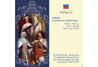 Sir David Willcocks, Sir Georg Solti, Georg Guest, The Choir Of King's College, Edward Benjamin Britten - Jubilee - A Celebration of Royal Music - (CD)