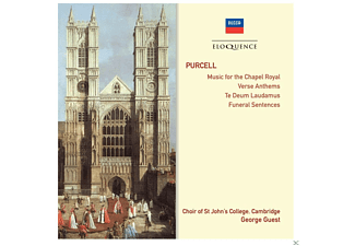 Cambridge Choir Of St John's College, George Guest - Music For The Chapel Royal - Verse Anthems - Te Deum Laudamus - Funeral Sentences - (CD)