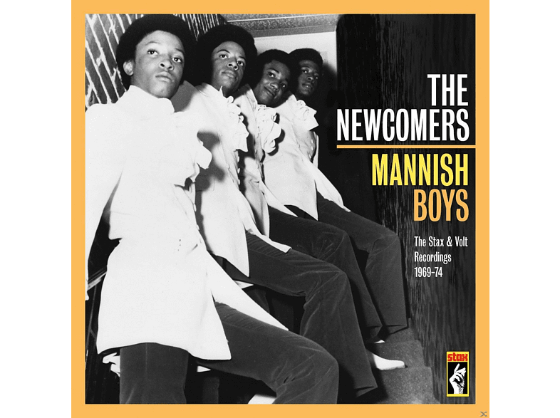 The Newcomers - Mannish Boys-The Stax & Volt Recordings 1969-74 [Limited Edition] [CD]