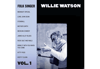 Willie Watson - Folk Singer Vol.1 - (CD)