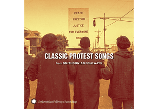 VARIOUS - Classic Protest Songs From Smithsonian Folkways - (CD)