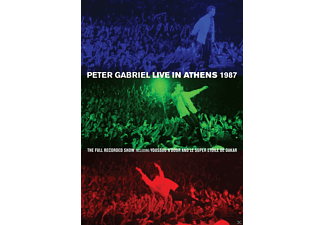 Peter Gabriel - Live In Athens 1987 - (DVD)