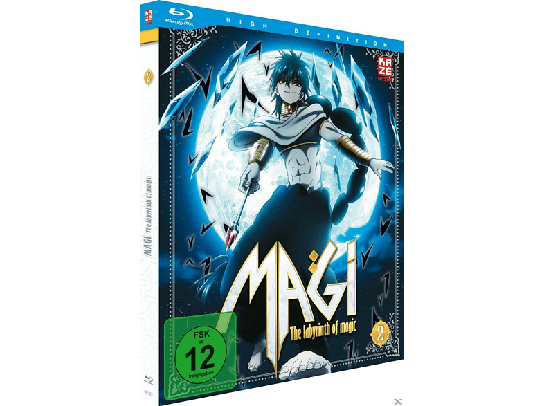 MAGI - THE LABYRINTH OF MAGIC - BOX 2 [Blu-ray]