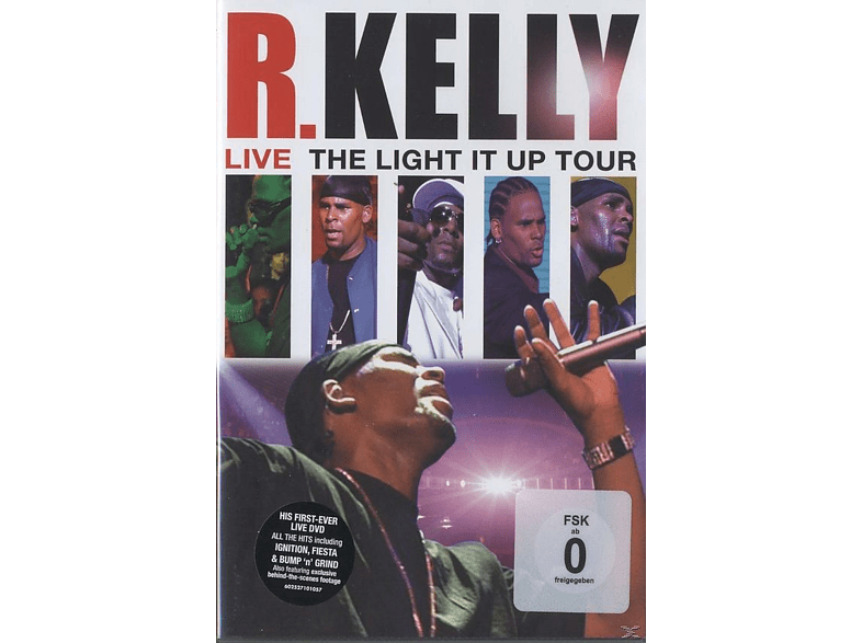 R. Kelly - Live - The Light It Up Tour [DVD]