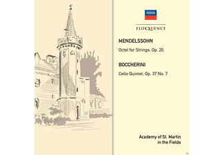 Academy of St. Martin in the Fields - Medelssohn / Boccherini: Quintet - Octet - (CD)