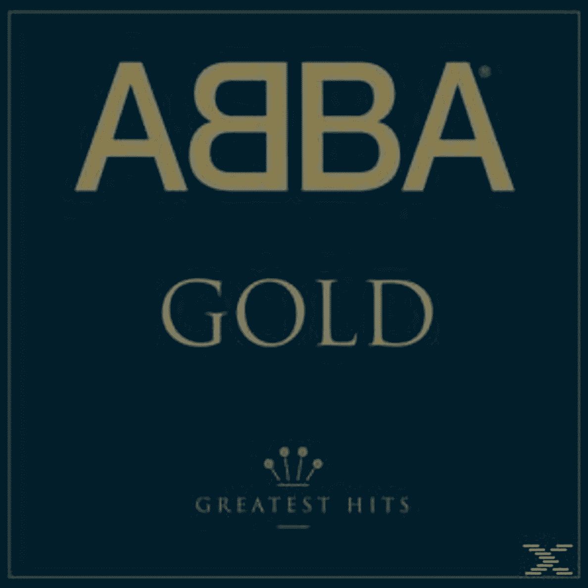 GOLD (LTD.BACK TO BLACK VINYL) ABBA auf Vinyl