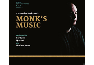Gordon Jones, Carducci Quartet - Alexander Raskatov's Monk's Music - (CD)