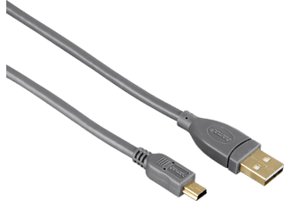 HAMA Mini-USB-2.0, Kabel, 1800 mm