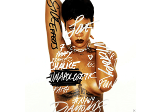 Rihanna - UNAPOLOGETIC (LTD.DELUXE EDT.) [CD + DVD]