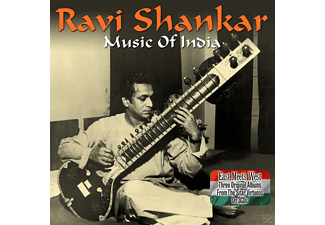 Ravi Shankar - Music Of India - (CD)