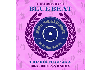 VARIOUS - History Of Blue Beat - The Birth of Ska - (CD)
