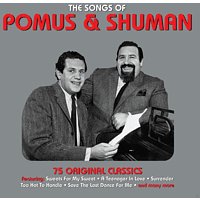 VARIOUS - Songs Of Pomus & Shuman [CD]