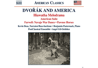 Angel Gil-ordonez - Dvorak and America - (CD)