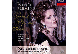Sir Georg Solti, Fleming,Renee/Solti,Georg/LSO - Opern-Szenen - (CD)