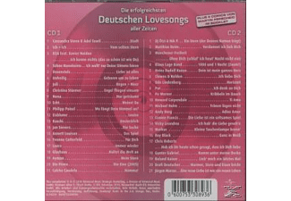 VARIOUS - Die Ultimative Chartshow-Deutsche Lovesongs - (CD)