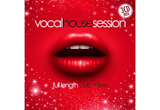 VARIOUS - Vocal House Session - (CD)