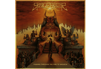 Space Eater - Passing Through The Fire Of Molech - (CD)