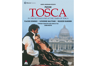 Plácido Domingo, Raimondi Ruggero, Orchestra Sinfonica Della Rai Di Roma, Malfitano Catherine - Tosca - In The Settings And At The Times Of Tosca - (DVD)