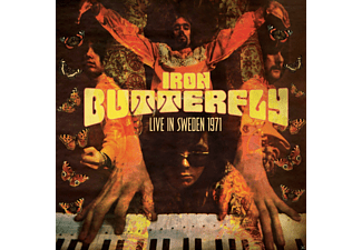 Iron Butterfly - Live In Sweden 1971 - (CD)