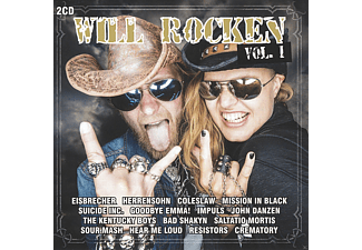 VARIOUS - Will Rocken 01 - (CD)