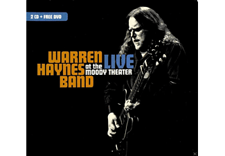 Warren Haynes Band - Live At The Moody Theater - (CD + DVD Video)